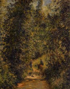 Camille Pissarro - Path under the Trees, Summer