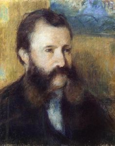 Camille Pissarro - Portrait of Monsieur Louis Estruc