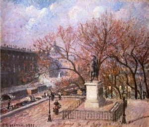 Camille Pissarro - The Pont Neuf and the Statue of Henri IV