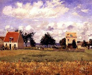 Camille Pissarro - The Red House