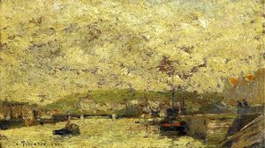 Camille Pissarro - The Seine at Rouen