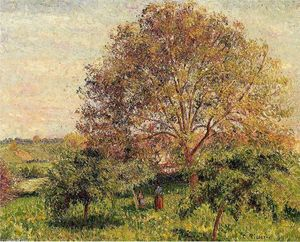 Camille Pissarro - Walnut Tree in Spring