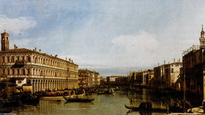 Giovanni Antonio Canal (Canaletto) - Grand Canal