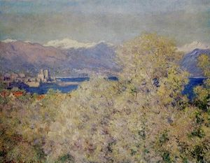 Claude Monet - Antibes - View of the Salis Gardens