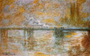 Claude Monet - Charing Cross Bridge 1