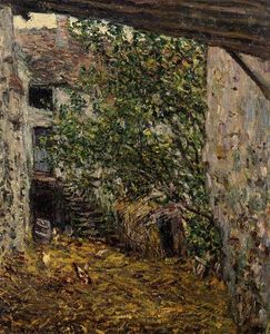 Claude Monet - Farmyard