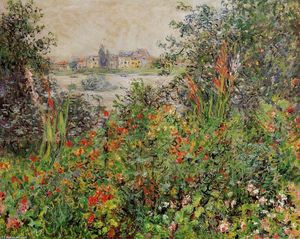 Claude Monet - Flowers at Vetheuil