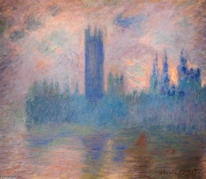 Claude Monet - Houses of Parliament, Westminster