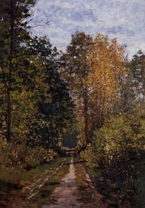 Claude Monet - Path in the Forest