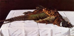 Claude Monet - Pheasant