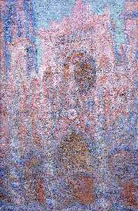 Claude Monet - Rouen Cathedral, Symphony in Grey and Rose