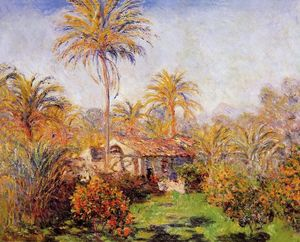 Claude Monet - Small Country Farm in Bordighera