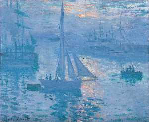 Claude Monet - Sunrise (aka Seascape)