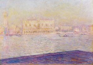 Claude Monet - The Doges' Palace Seen from San Giorgio Maggiore 1