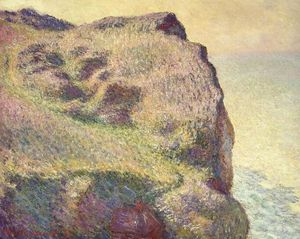 Claude Monet - The Pointe du Petit Ailly