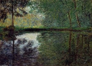 Claude Monet - The Pond at Montgeron