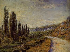Claude Monet - The Road from Vetheuil