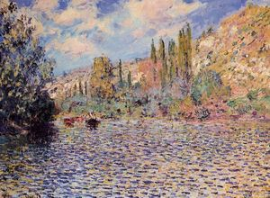 Claude Monet - The Seine at Vetheuil 1