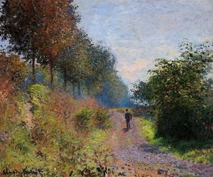 Claude Monet - The Sheltered Path