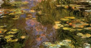 Claude Monet - The Water-Lily Pond 8