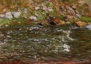 Claude Monet - Torrent of the Petite Creuse at Freeselines