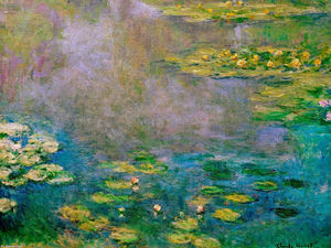 Claude Monet - Water Lilies (17)