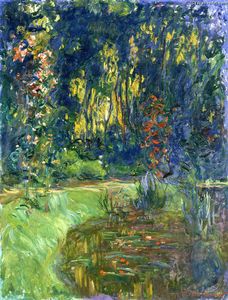 Claude Monet - Water Lily Pond at Giverny