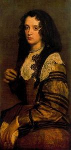 Diego Velazquez - A Young Lady