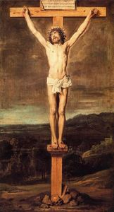 Diego Velazquez - Christ on the cross 1