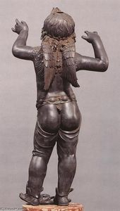 Donatello - Allegoric Figure of a Boy (Atys), rear view