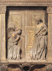 Donatello - Annunciation 1
