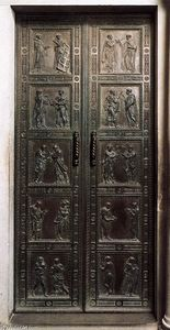 Donatello - Door with the representation of Martyrs