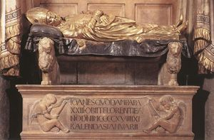 Donatello - Funeral Monument to John XXIII (detail 1)