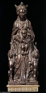 Donatello - Madonna with the Child