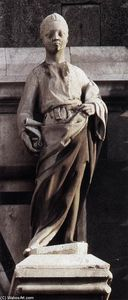 Donatello - Prophet (left of the Porta della Mandorla)