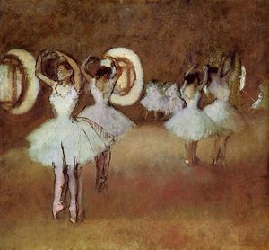 Edgar Degas - Dance Rehearsal in the Studio of the Opera