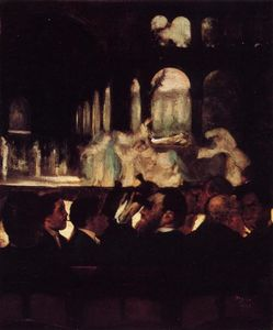 Edgar Degas - The Ballet from 'Robert la Diable'