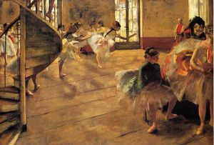 Edgar Degas - The Rehearsal 1