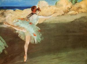Edgar Degas - The Star - Dancer on Pointe