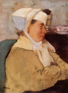 Edgar Degas - Woman with a Bandage