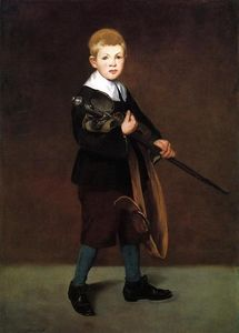 Edouard Manet - Boy with a sword