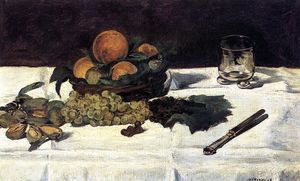 Edouard Manet - Fruit on a Table