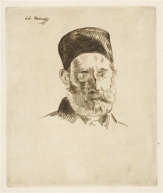 M. Manet Pere by Edouard Manet (1832-1883, France) | Art Reproductions Edouard Manet | WahooArt.com