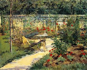 Edouard Manet - The Bench (aka My Garden)