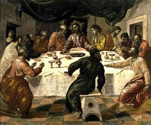 El Greco (Doménikos Theotokopoulos) - The Last Supper