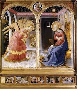 Fra Angelico - Annunciation 6