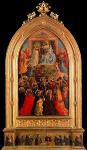 Fra Angelico - Coronation of Mary