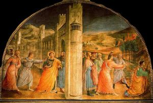 Fra Angelico - Martyrdom of St. Stephan