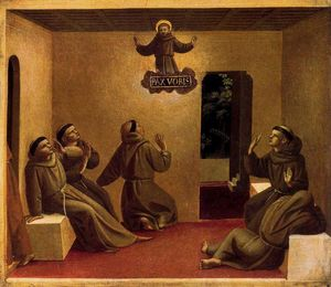 Fra Angelico - The Apparition at Arles