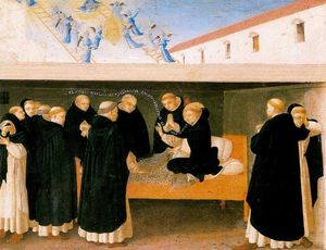 Fra Angelico - The Death of St. Dominic